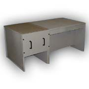 Fume bench, dust bench