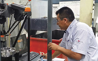 Equator at Tremec Mexico