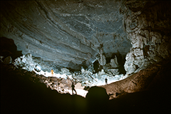 Cave scanning
