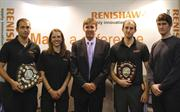 Renishaw apprentice of the year award winners 2012