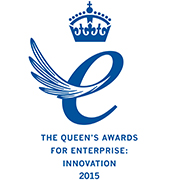The Queen's award for Enterprise: Innovation 2015 (180x180)