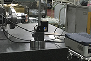 Pre-shipment inspection using Renishaw's XR20-W with XL-80 laser system