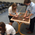 Young Engineers take part in a measuring activity