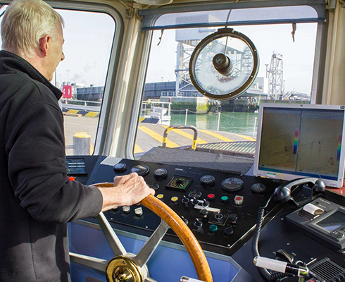 Merlin easily integrates with on-board systems on the survey vessel
