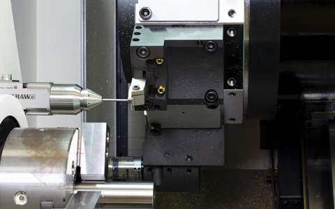 Turning tool measurement using the APCA-45
