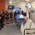 Students visit the operating theatre at Miskin, South Wales