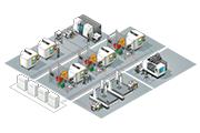 Abbildung der intelligenten Fabrik Renishaws