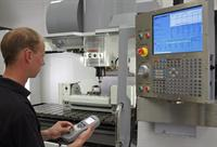 Machine tool calibration with QC20-W wireless ballbar