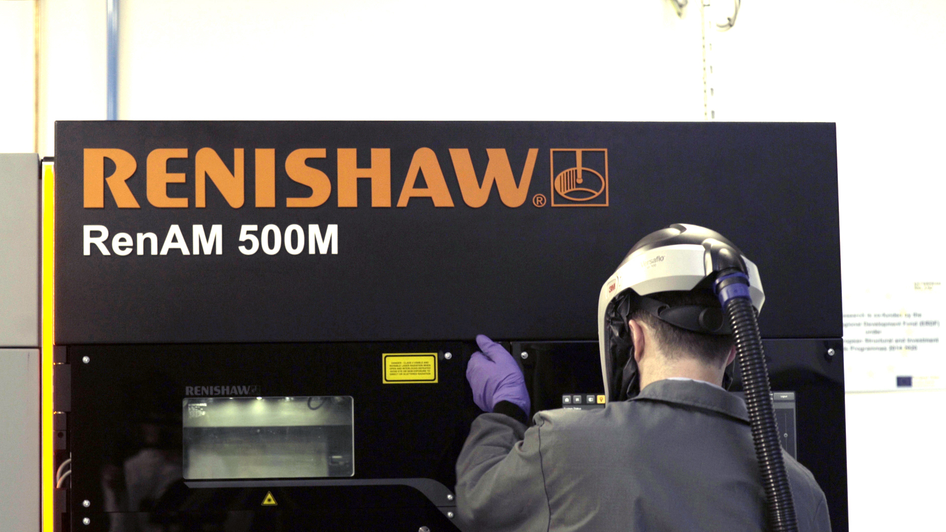 Renishaw AM systems were used to realise the physical part