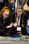 Students at the MACH 2018 Education and Development Zone (image credit: MTA)