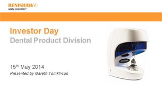Presentation:  Investor Day 2014 - Dental products