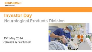 Presentation:  Investor Day 2014 - Neurological products