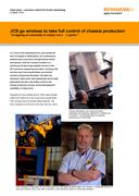 Case study: JCB - JCB uses wireless probing to take full control of chassis production
