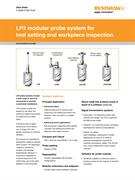 Data sheet: LP2 modular probe system for tool setting and workpiece inspection data sheet