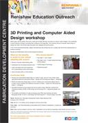 3D printing and CAD Flyer (FDC)