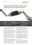 Case study:  Mori Seiki - Renishaw ballbar gives highest standard of customer service