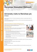 University Visits to Renishaw