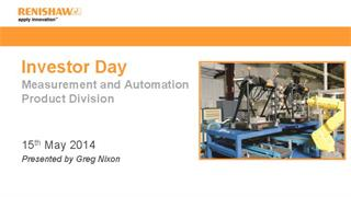 Presentation:  Investor Day 2014 - Measurement and automation products