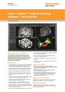 Data sheet:  neuroinspire surgical planning software - key features
