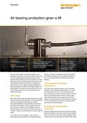 Case study:  Air Bearings Ltd - Air bearing production given a lift