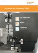 Brochure: OTS cable-free tool setting probe