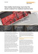 Case study: Nemcomed - New ballbar technology 'just what the doctor ordered' for medical machine tools