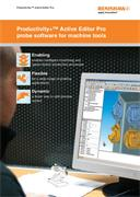 Brochure:  Productivity+™ Active Editor Pro probe software for machine tools