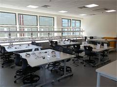 FDC electronics and teaching classroom