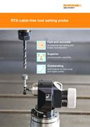 Brochure:  RTS cable-free tool setting probe