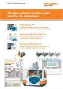 Brochure: PC-based software selection guide: machine tool applications