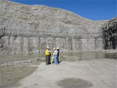 Quarry profiling training in the US