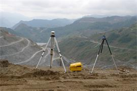 Project consultancy scanning a mine in China