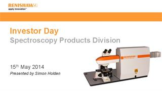 Presentation:  Investor Day 2014 - Raman spectroscopy products