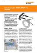 Application note : Introducing the RESOLUTE™ FS encoder