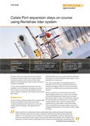 Case study: Calais Port expansion stays on course using Renishaw lidar system