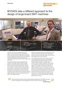 Case study: MYDATA take a different approach to the design of large-board SMT machines