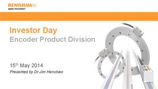 Presentation:  Investor Day 2014 - Encoder products