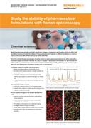 Application note:  Study the stability of pharmaceutical formulations with Raman microscopy