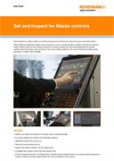 Data sheet: Set and Inspect for Mazak