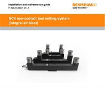 Installation guide:  NC4 (integral air blast) tool setting system