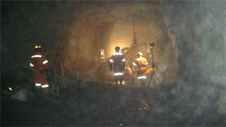 C-ALS training in a mine in Chile
