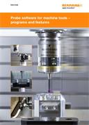 Data sheet:  Probe software for machine tools - programs and features