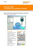 Data sheet: Renishaw OMV on-machine 3D verification