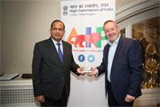 Renishaw supports UK and India business ties image