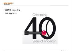 Presentation:  June 2013 annual results