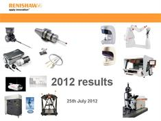 Presentation:  June 2012 annual results