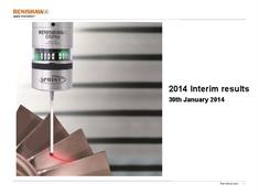 Presentation: Unaudited 2014 interim results