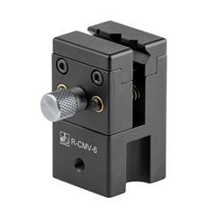 R-CMV-6 - 57 mm × 32 mm × 32 mm mini vice with adjustable 11 mm jaws and M6 thread [1]