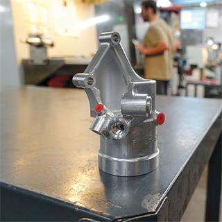 R&D Manco - skilled machinists are encouraged to refine and improve machining processes