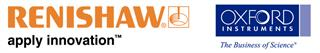 Renishaw and Oxford Instruments logo